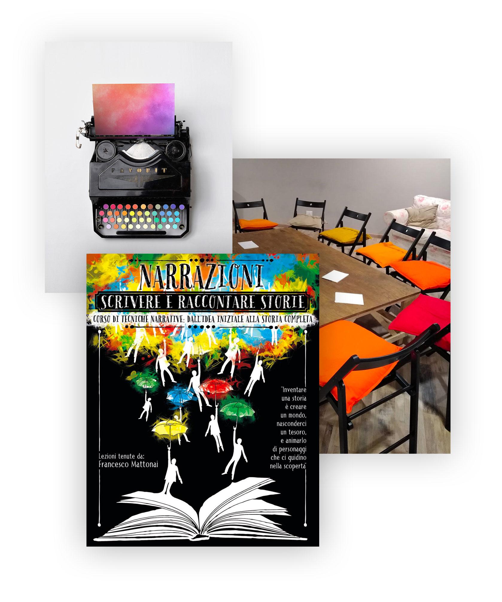 Corso di scrittura creativa - scrivere e raccontare storie.