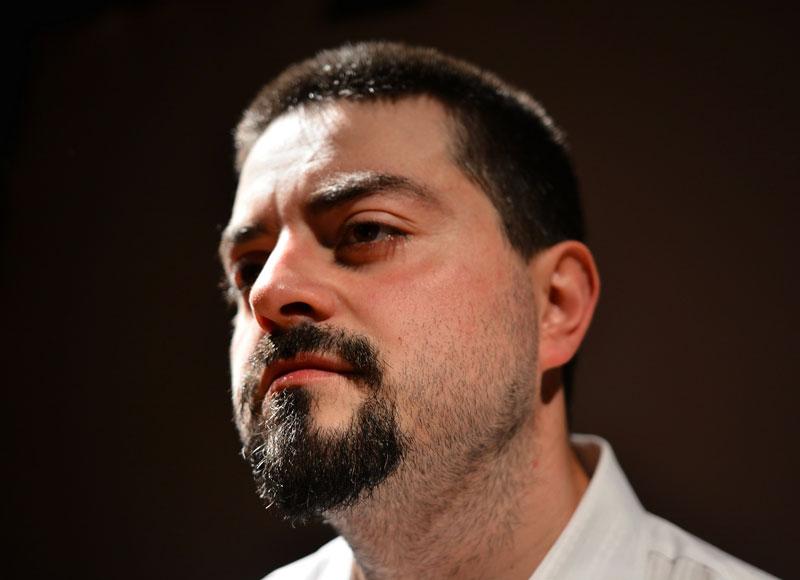 Francesco Mattonai, narratore, sceneggiatore e attore.
